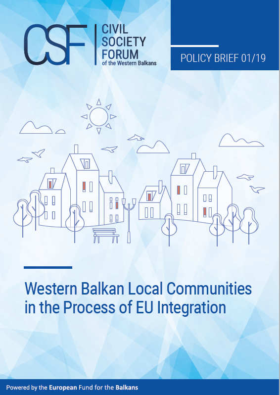 Western Balkan Local Communities in the Process of EU Integration