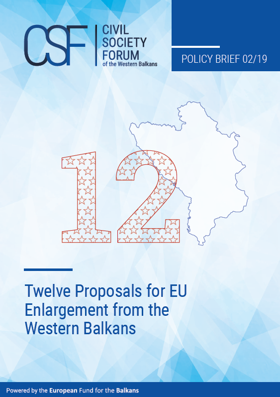Twelve Proposals for EU Enlargement from the Western Balkans