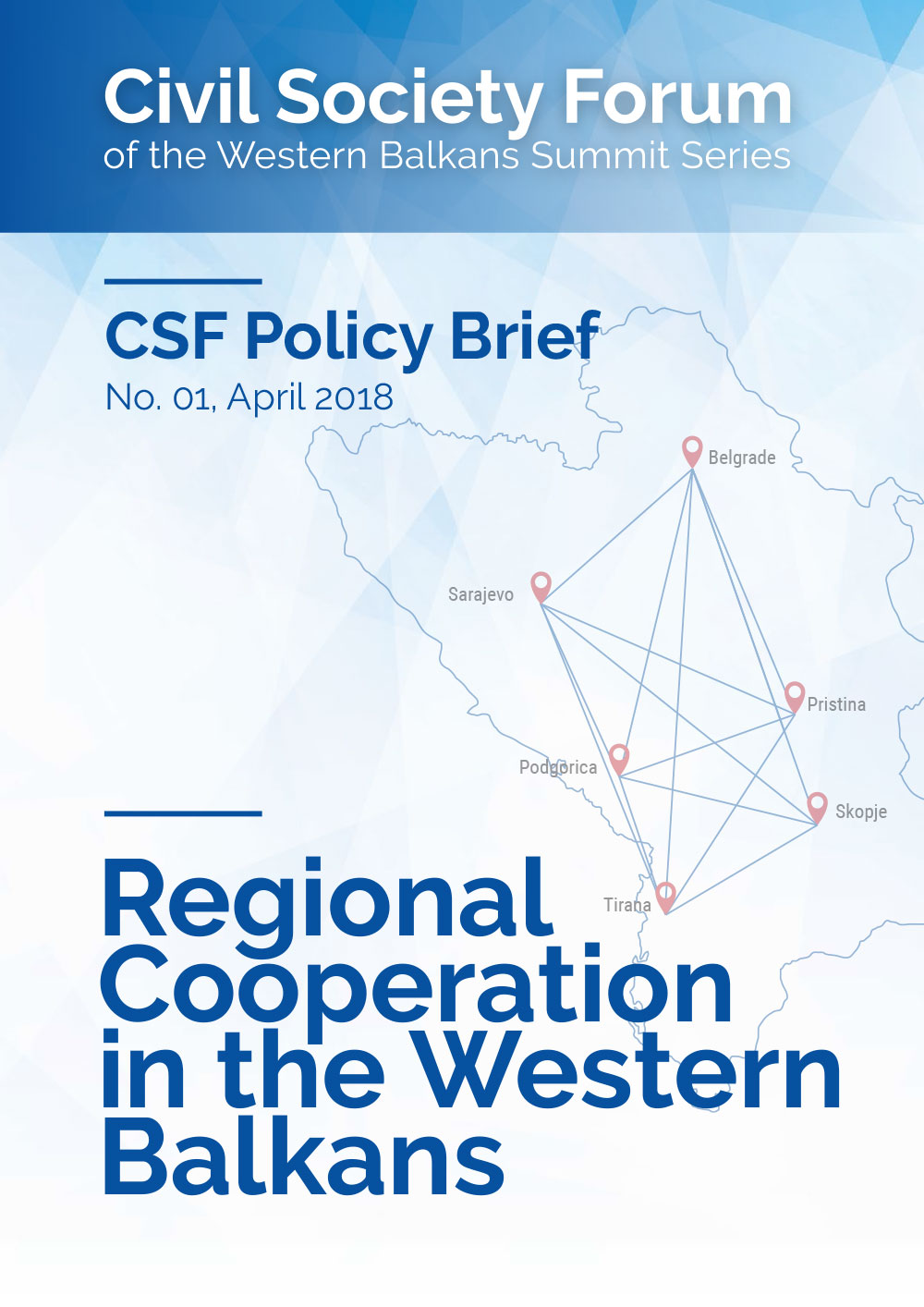 Regional Cooperation in the Western Balkans