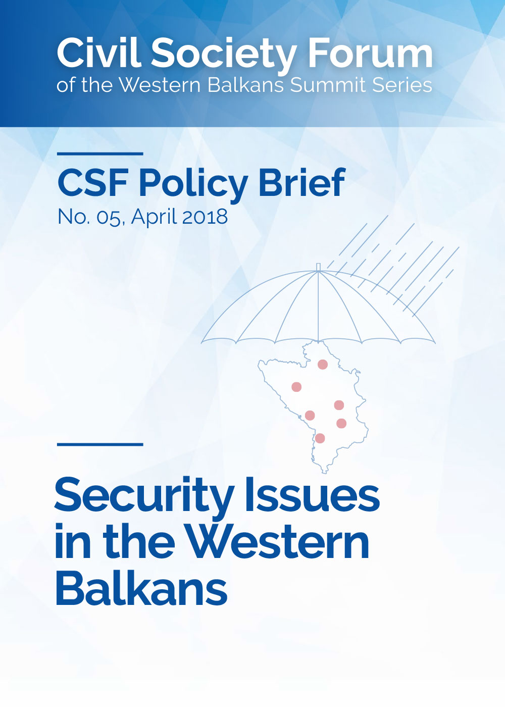 Security Issues in the Western Balkans