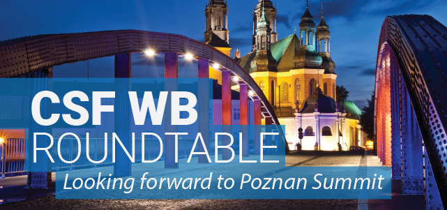 "CSF WB roundtable ""Looking forward to Poznan Summit"""
